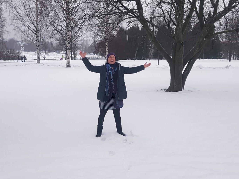 Hurra, Schnee!