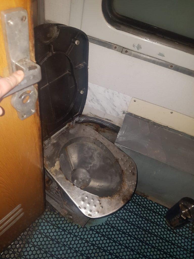Ausstattung Zug 3. Klasse
