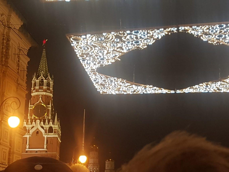 Silvester am Roten Platz