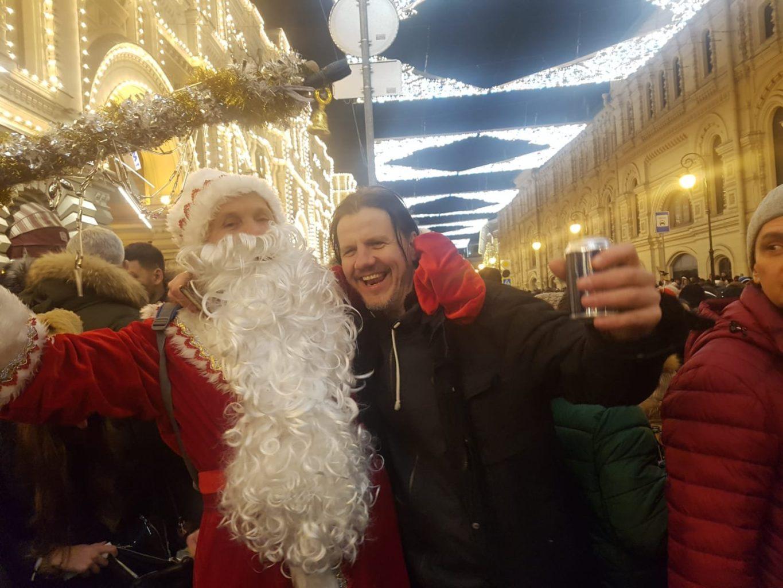 Roter Platz Ded Moroz