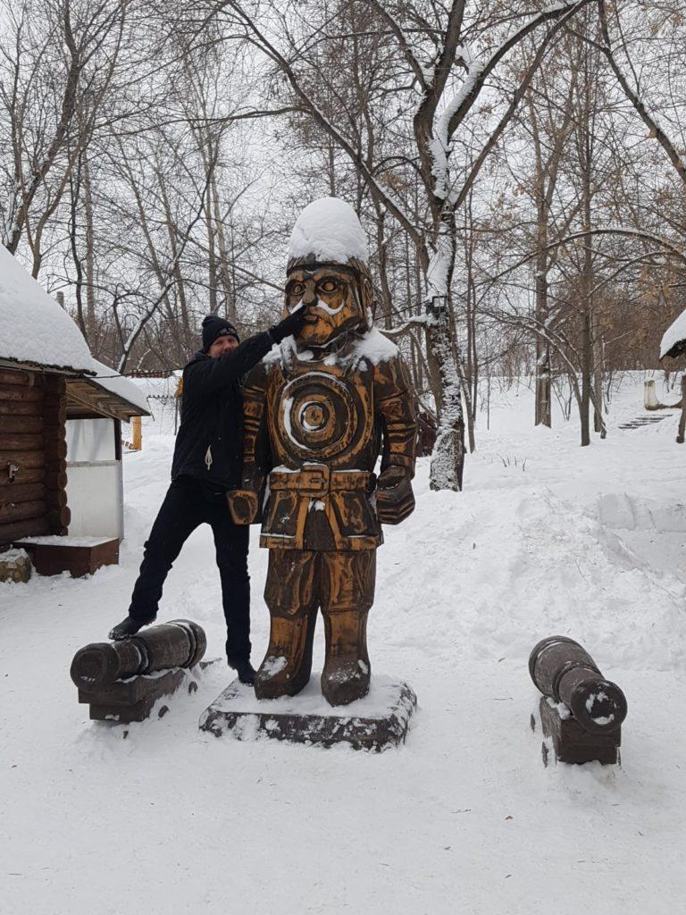 Holzfiguren Kungur