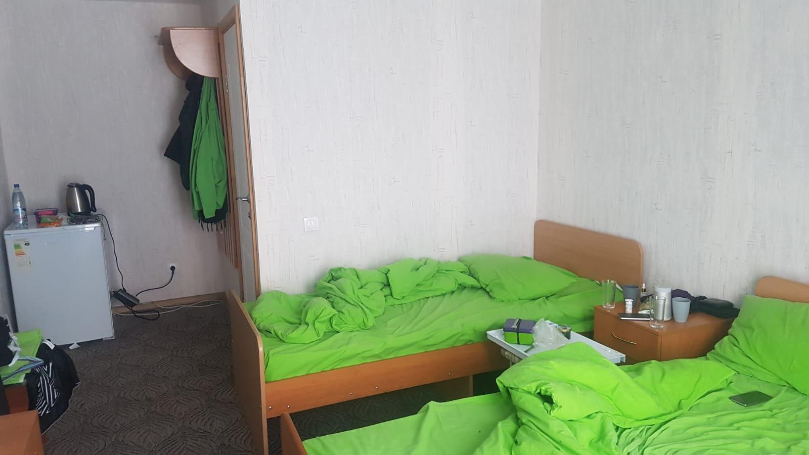 Zimmer und Ausblick Sljudjanka