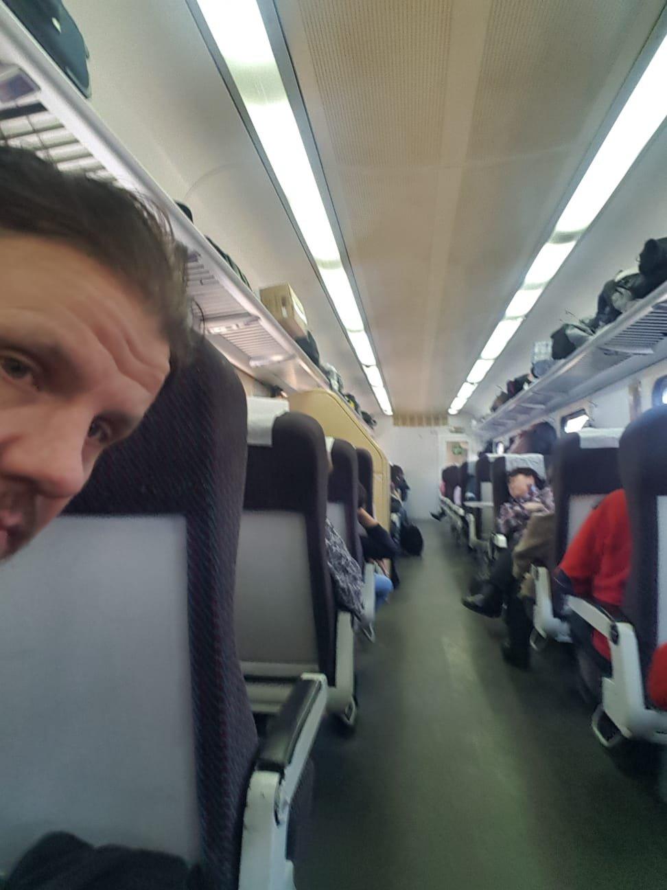 Zug zum Baikalsee