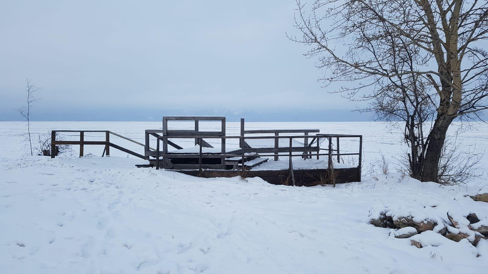 Baikalsee gefroren