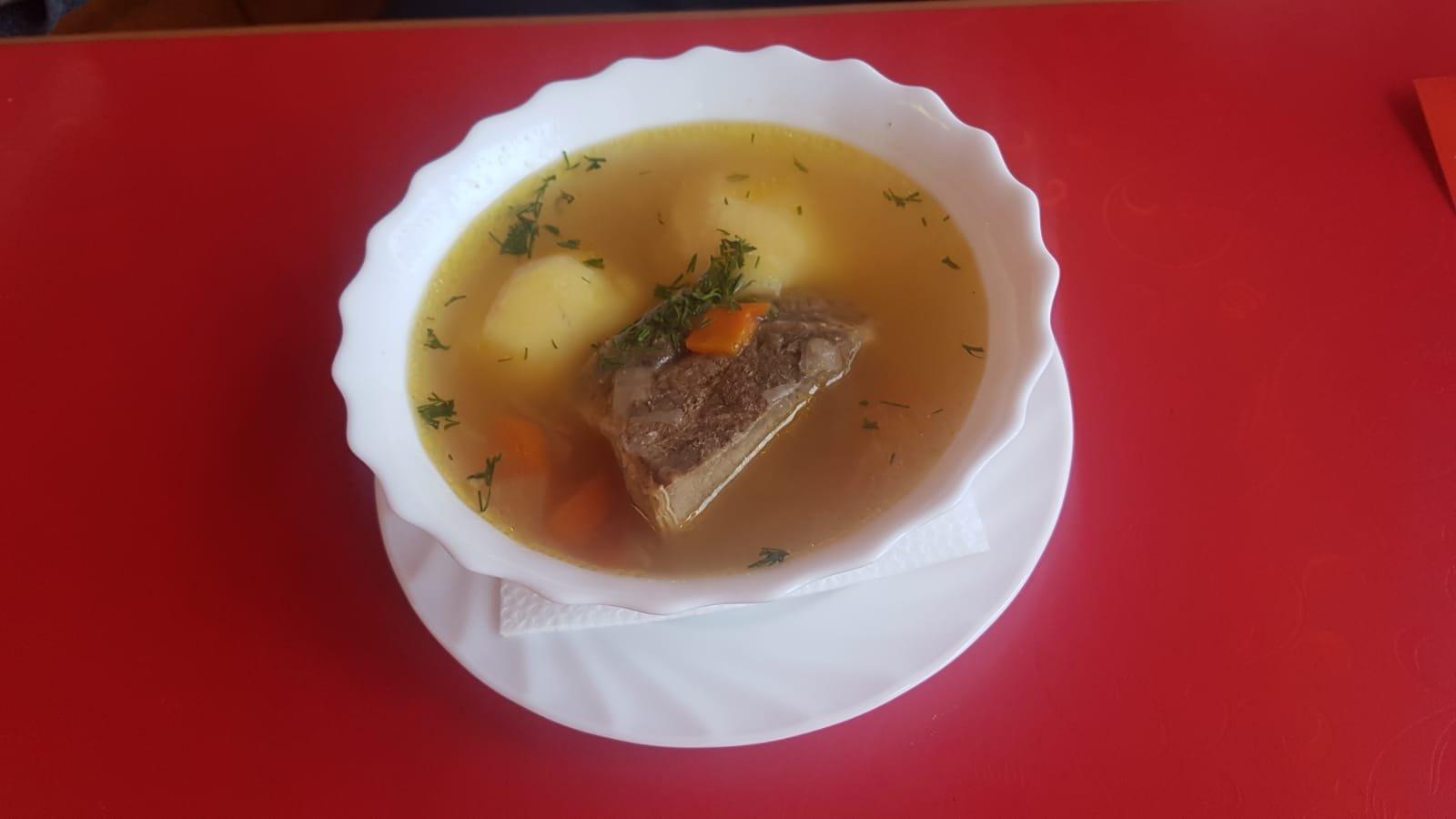 Suppen in der Goldenen Jurte