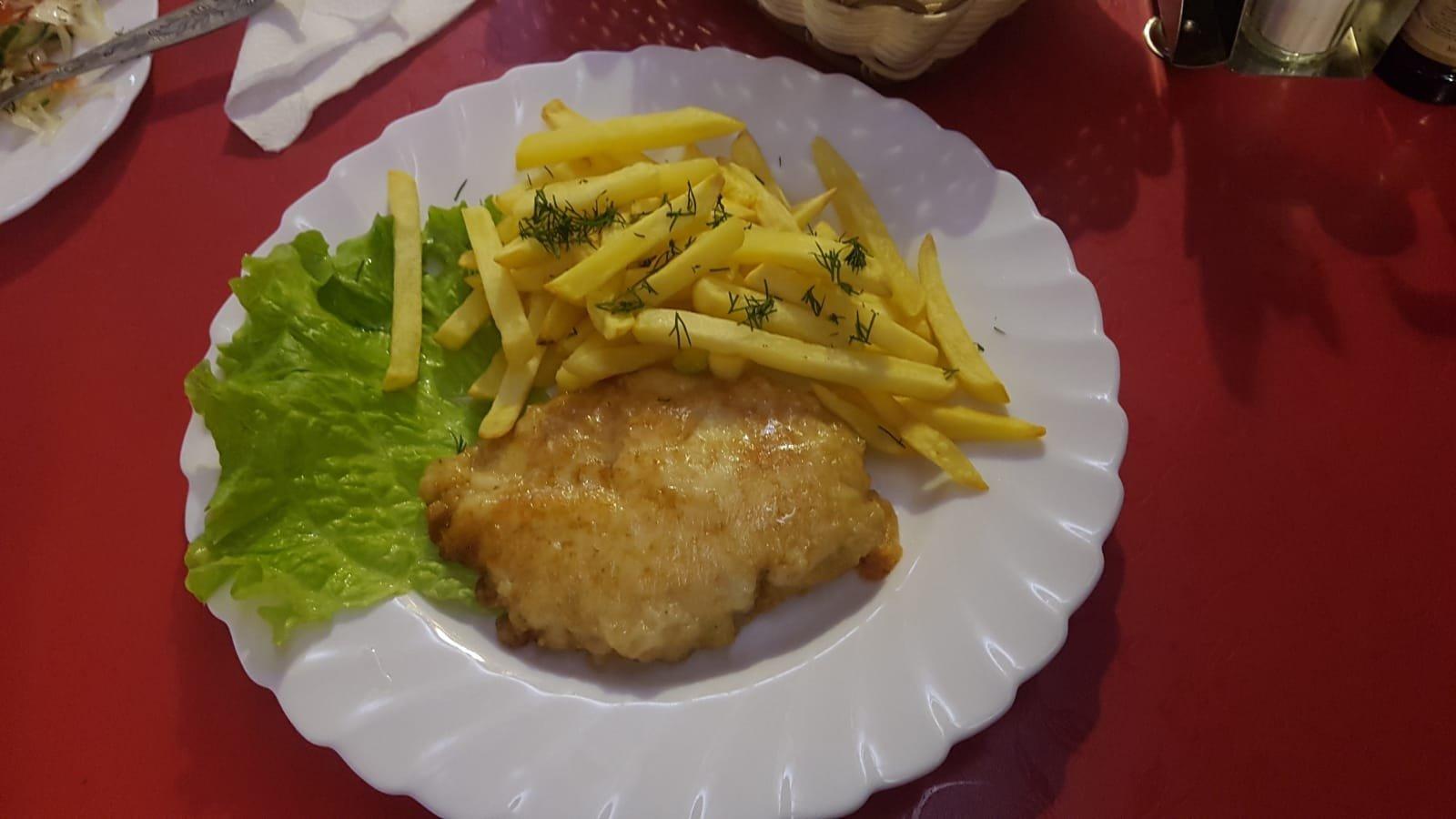 Schnitzel Goldene Jurte