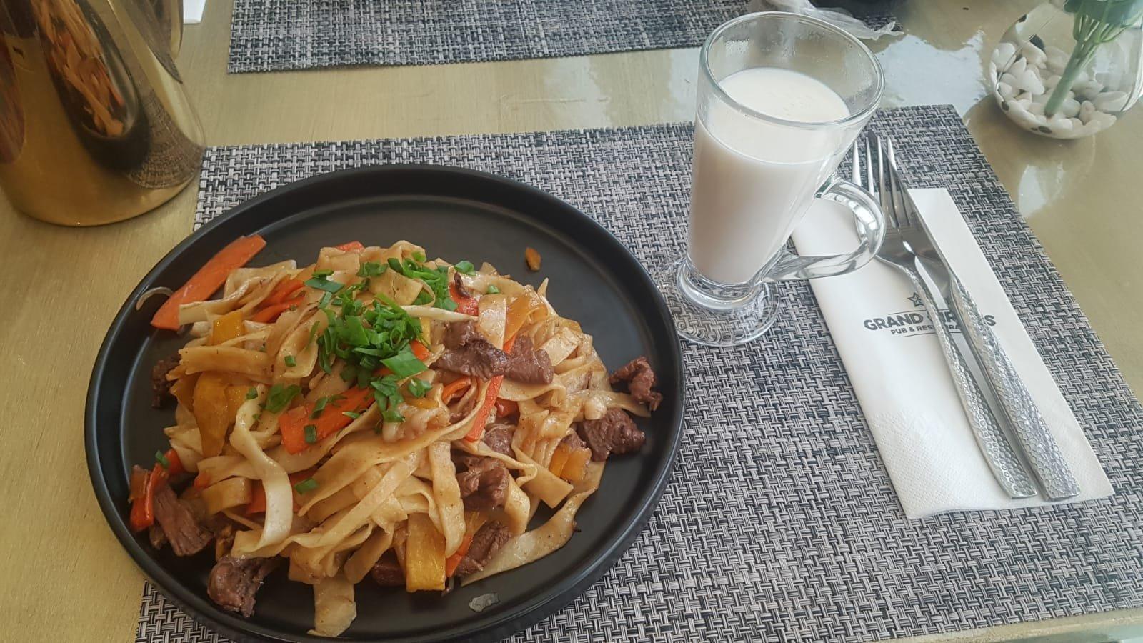 mongolische Nudeln