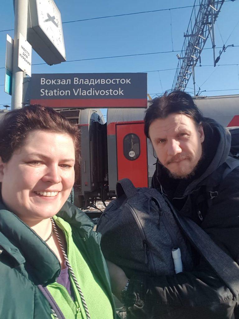 Ankunft in Wladiwostok