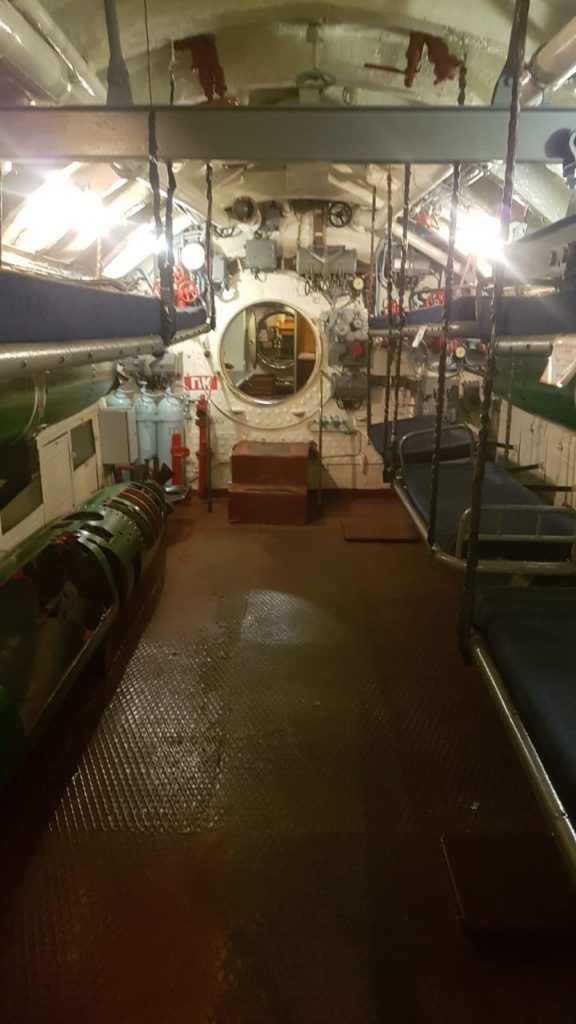 U-Boot von innen