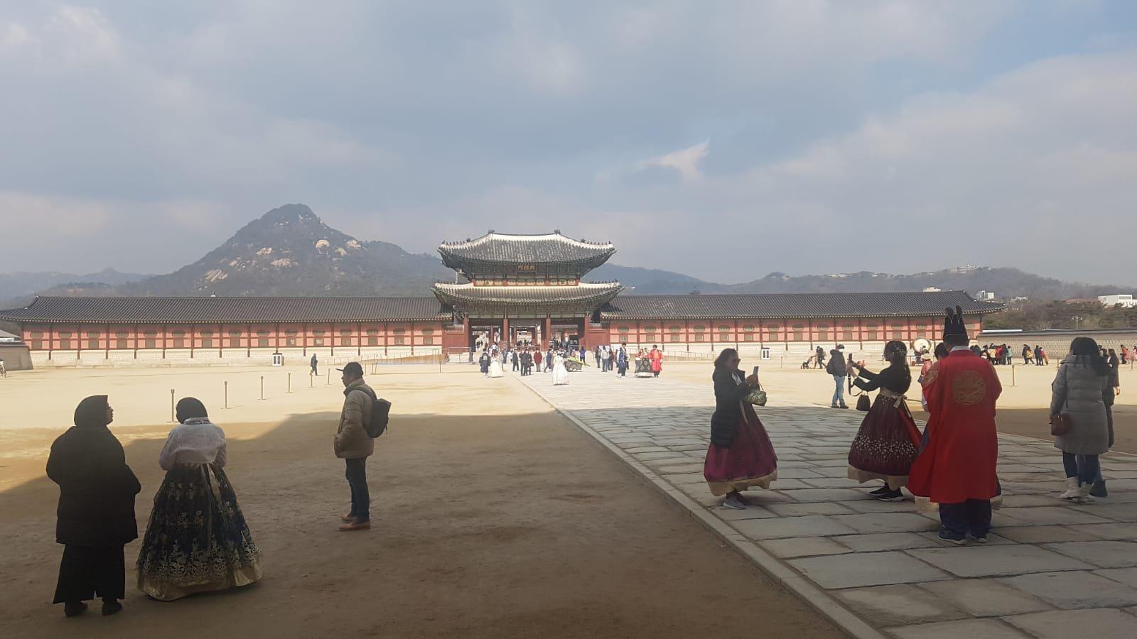 Palast in Seoul