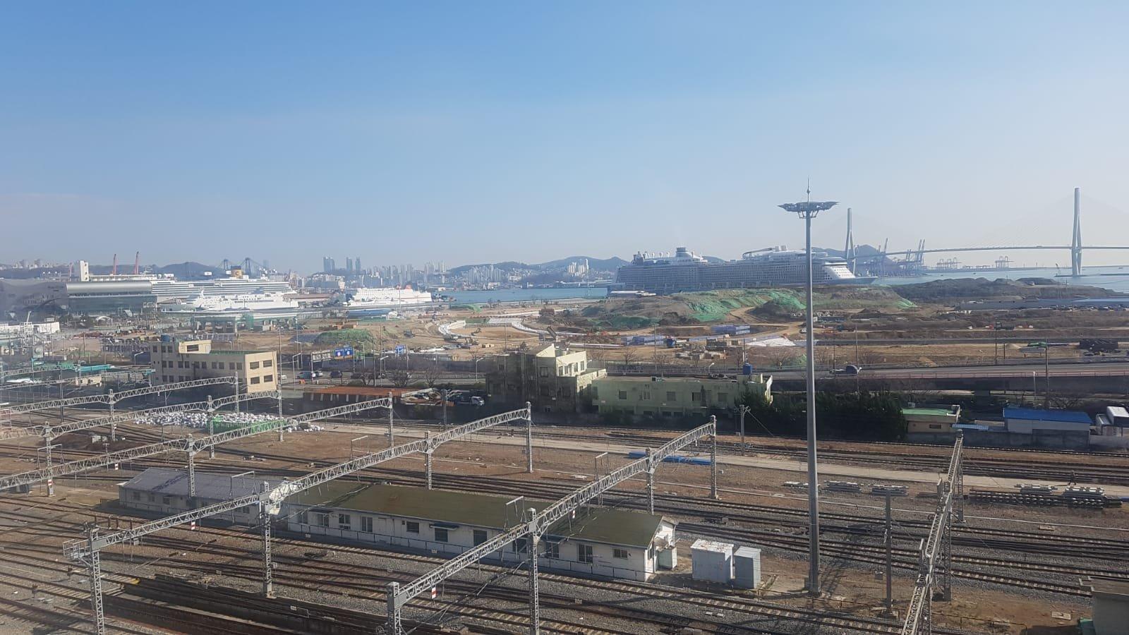 Ausblick Zimmer Busan