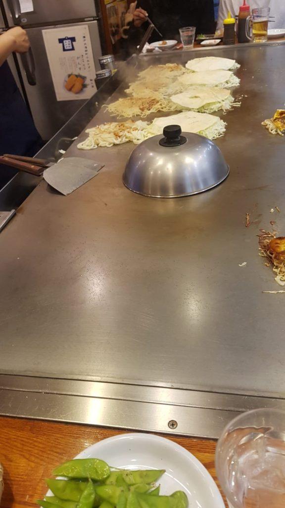 Zubereitung Okonomiyaki