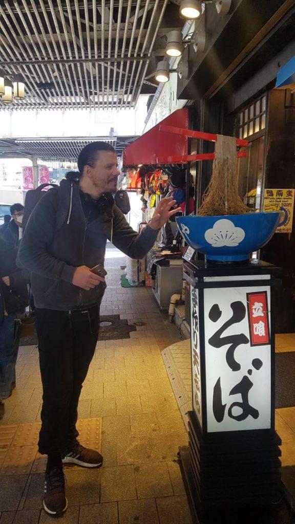 Ramen Nudeln in Tokio