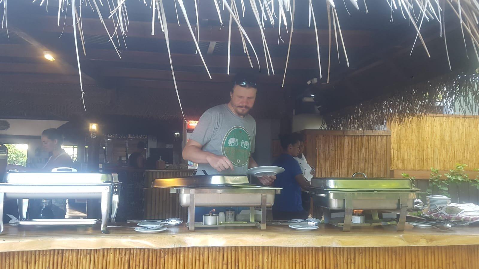 Frühstück auf Fidschi