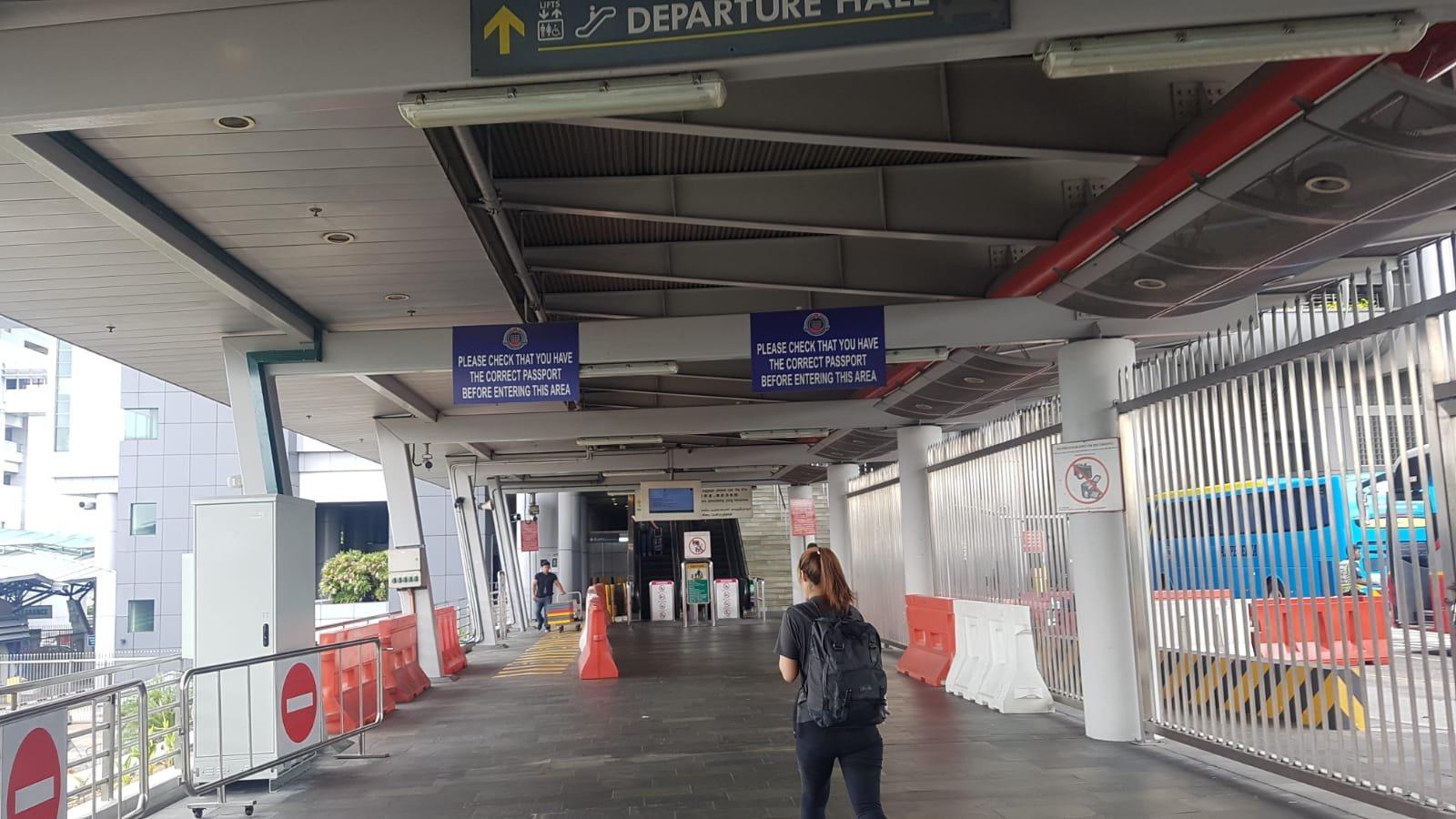 Busfahrt nach Johor Bahru