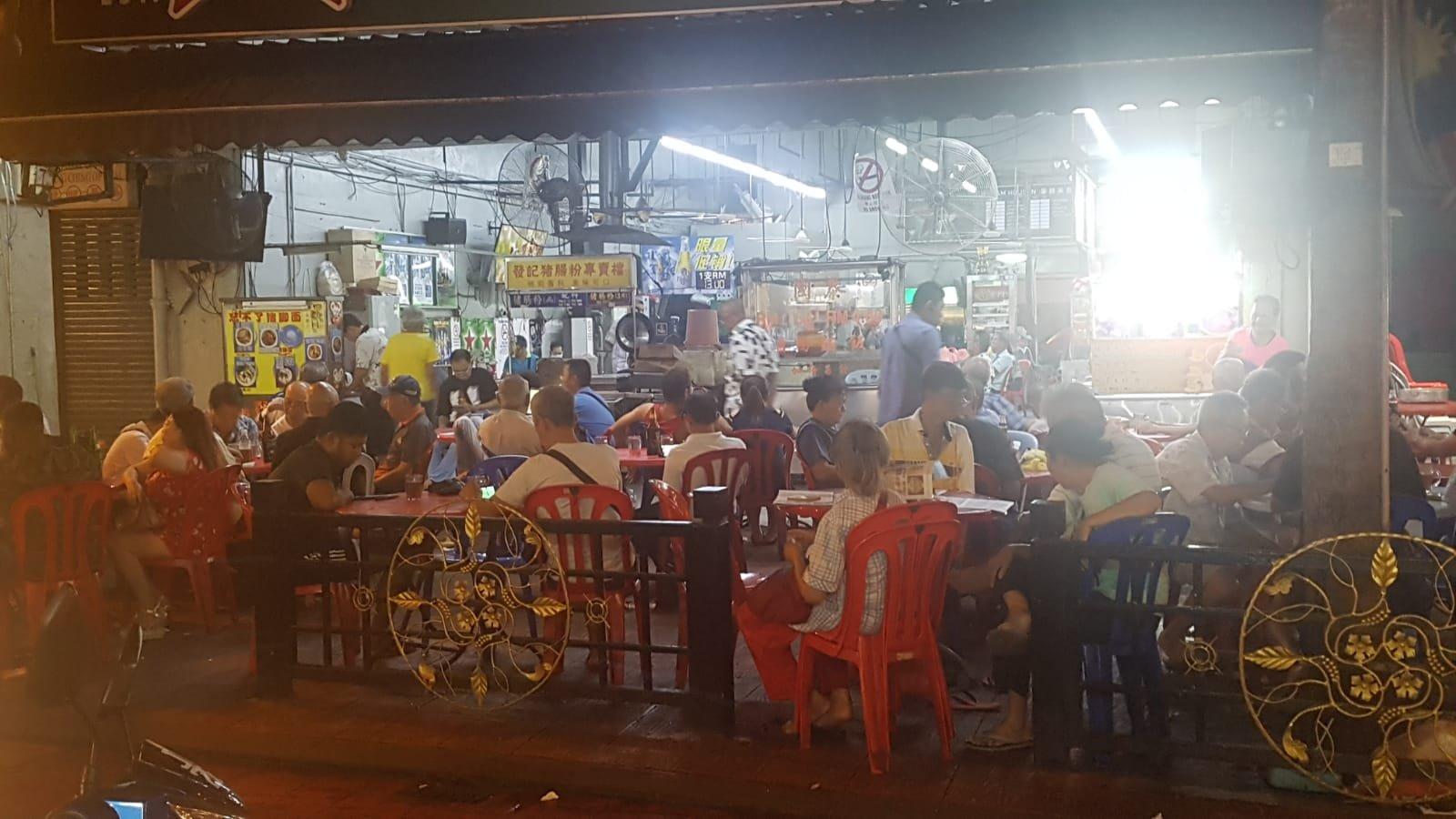 Hawker in Johor Bahru