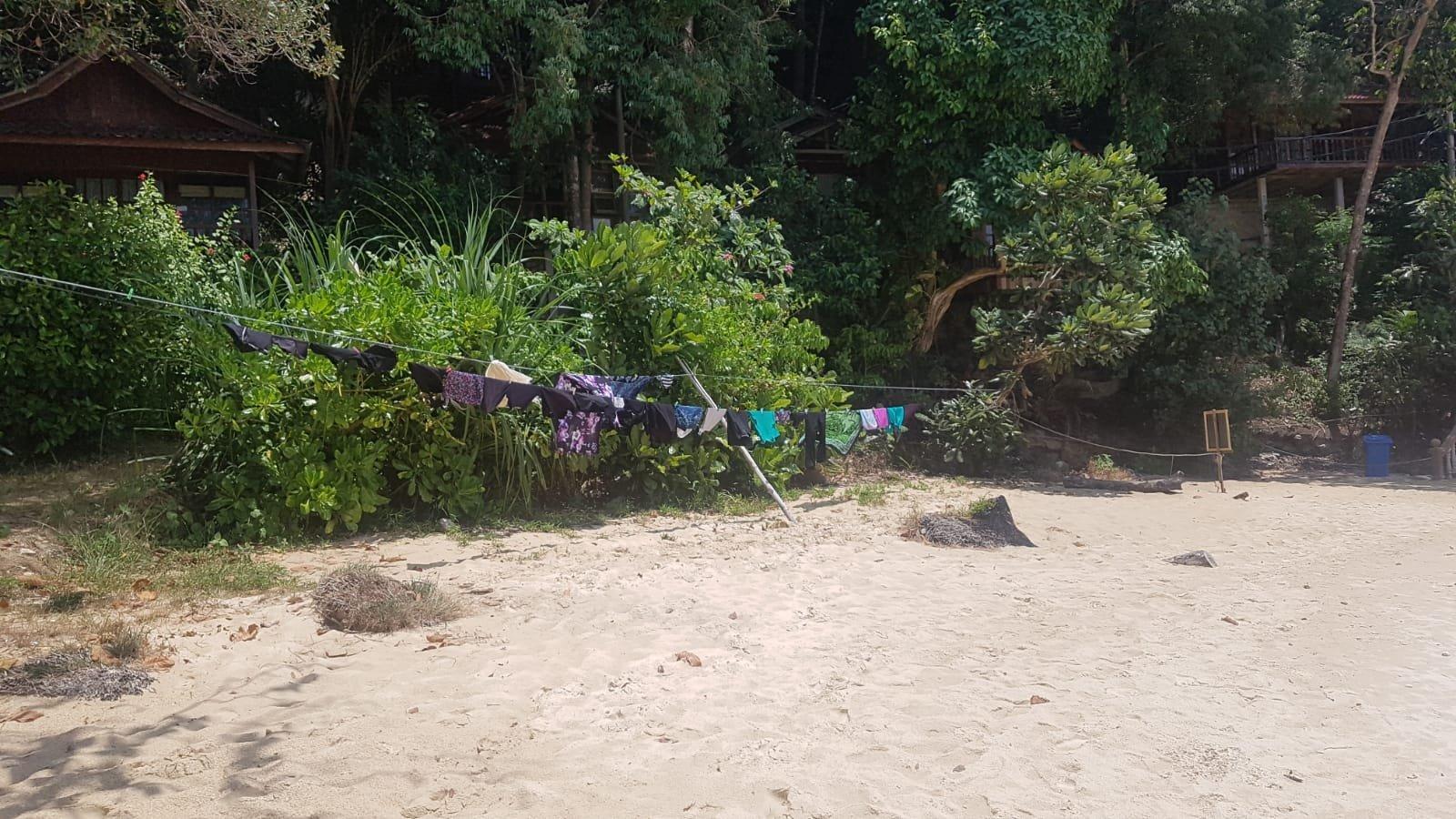 Waschtag auf Pulau Kapas