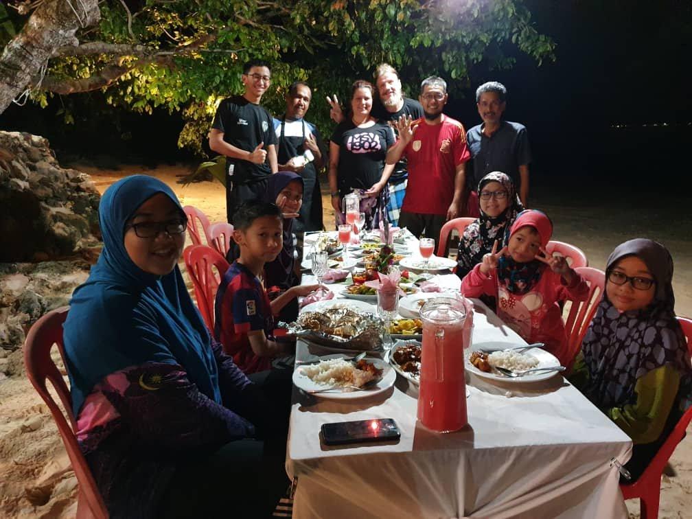 neue Gäste auf Pulau Kapas