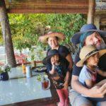Happy people on Pulau Kapas