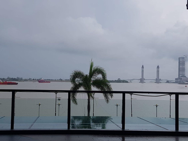Aussicht von Pulau Duyung