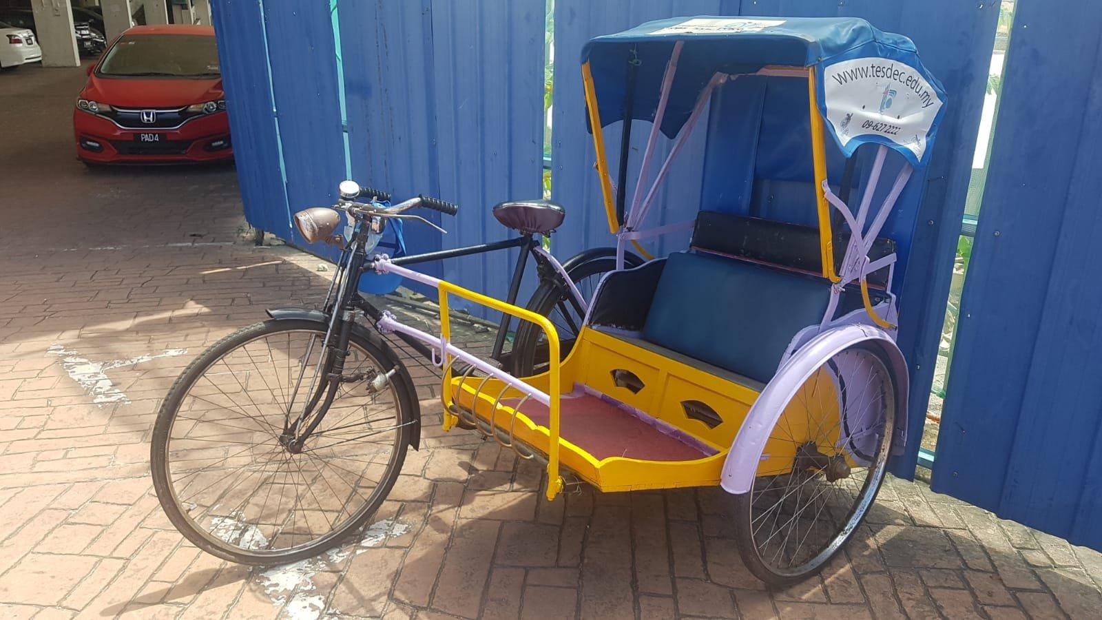 Fahrrad-Rikscha