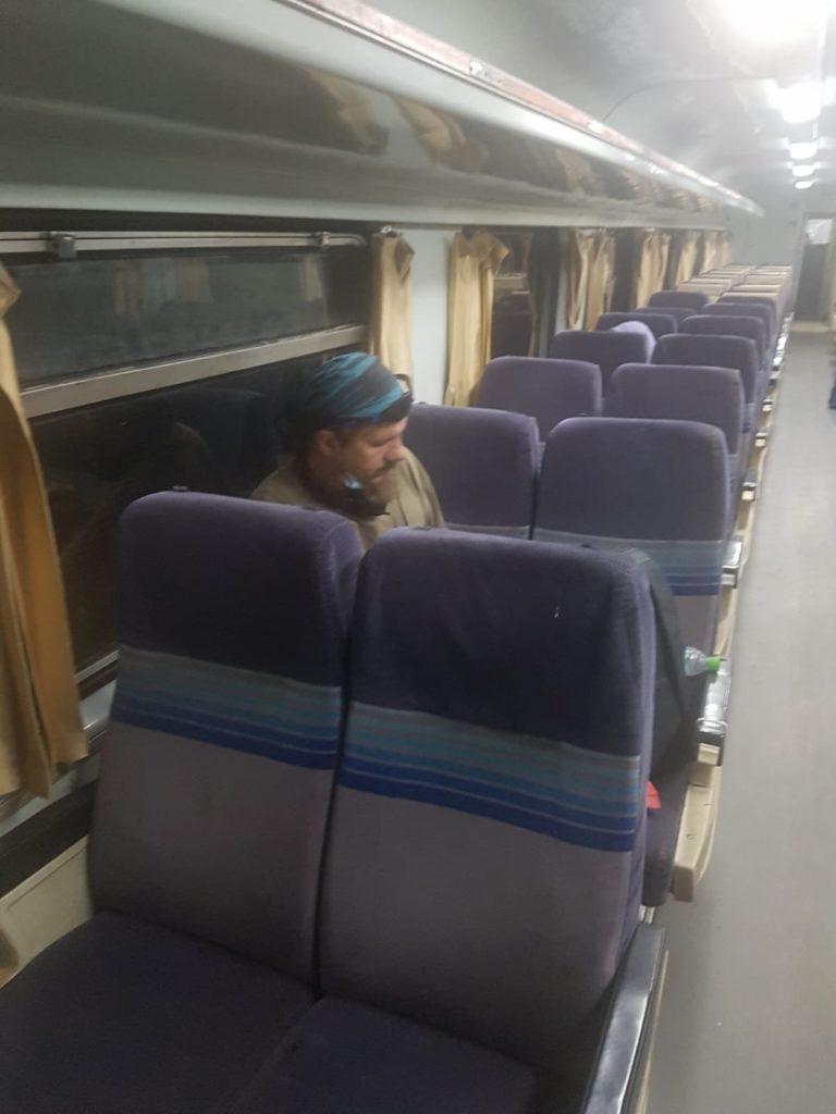 Leere Züge in COVID Zeiten