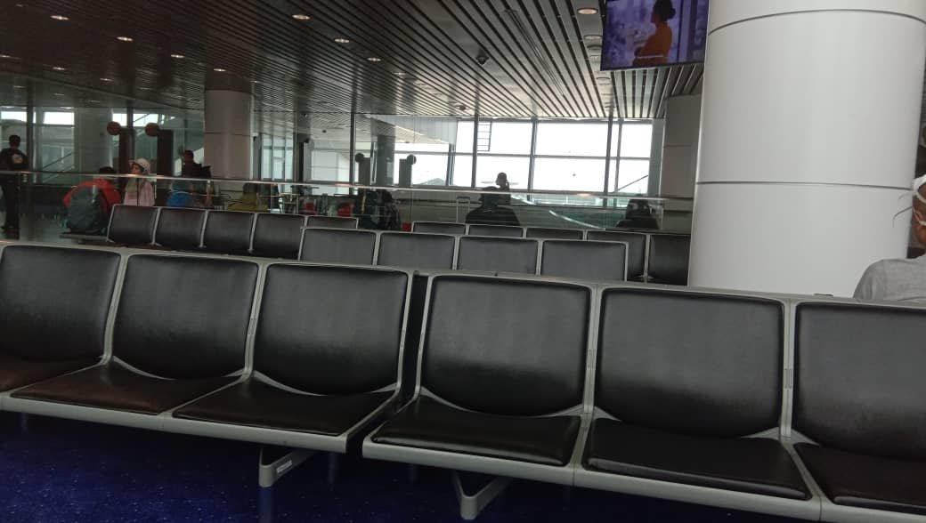 Leere Flughäfen in Malaysia