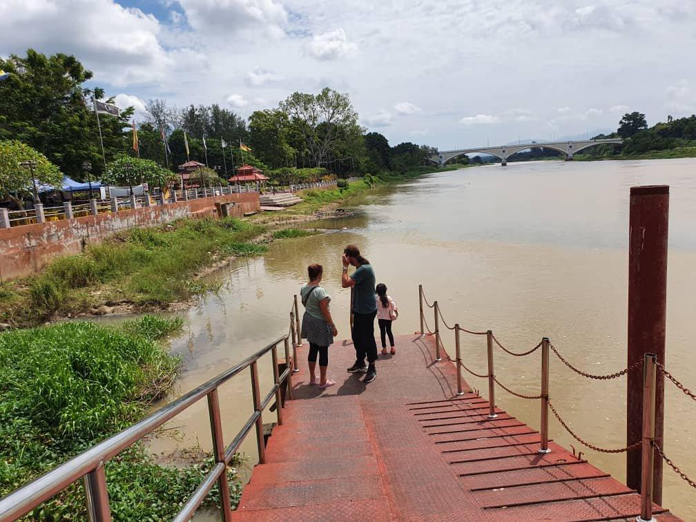 am Fluss in Kuala Kangsar