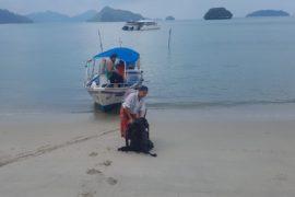 Ankunft auf Pulau Tuba