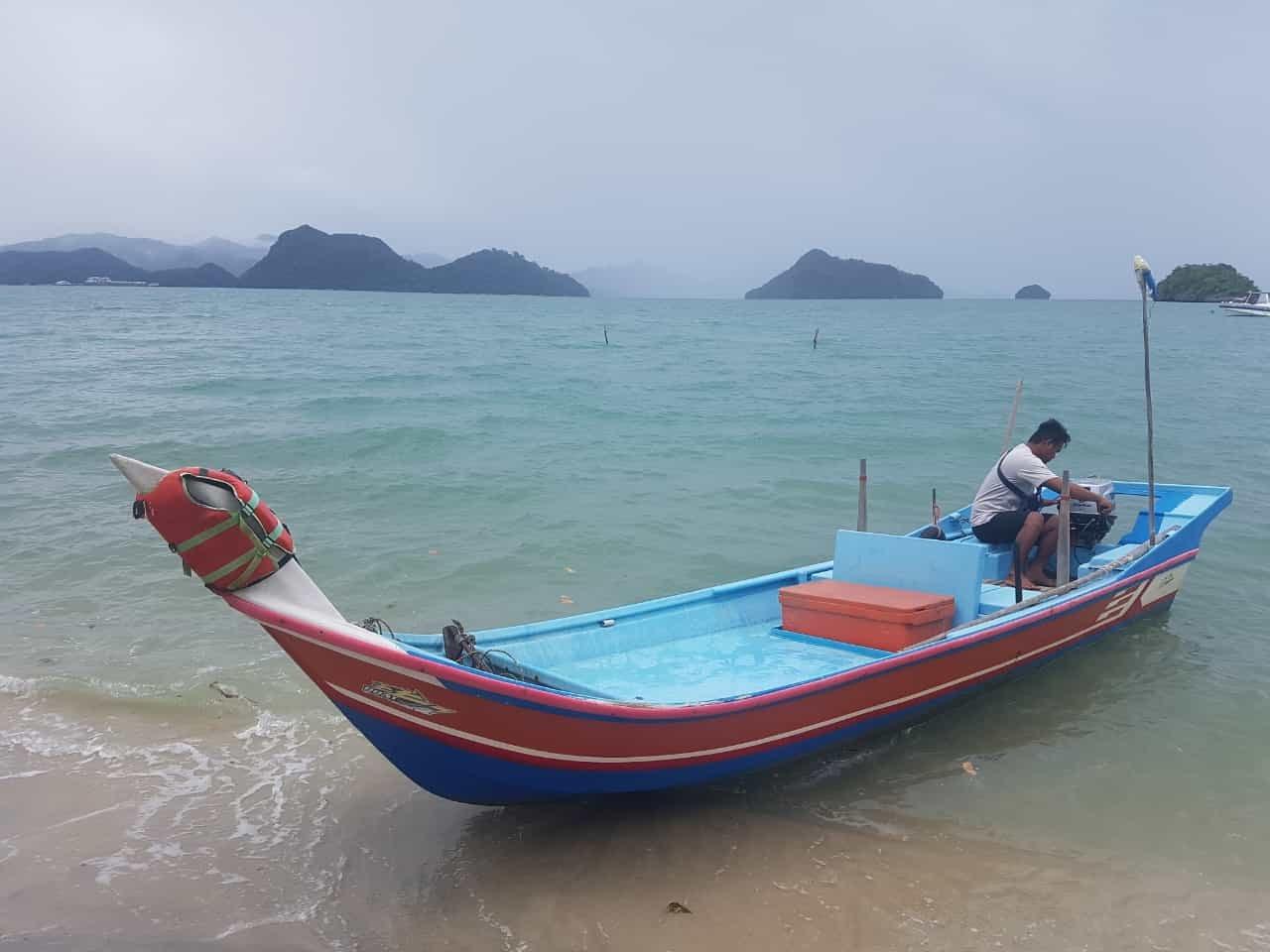 Wasser um Pulau Tuba