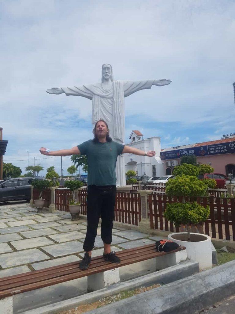 Jesus Statue Melakka