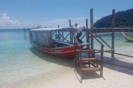Ankunft Pulau Lang Tengah