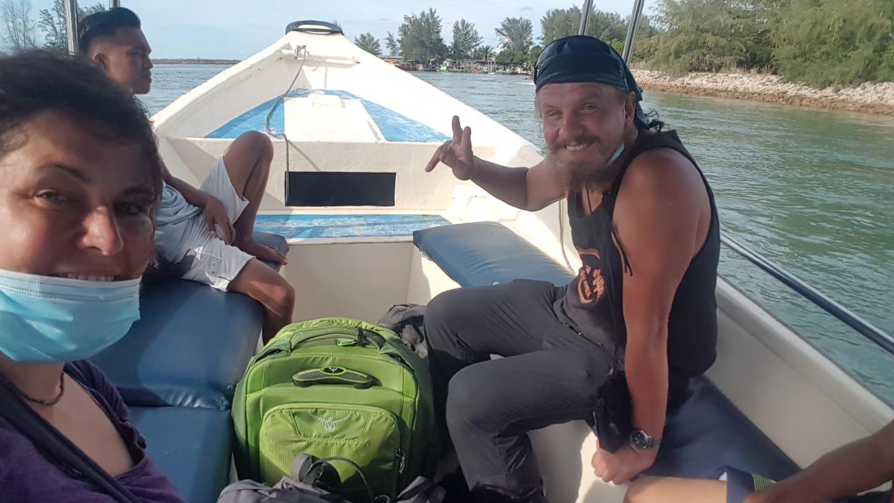 Rückkehr  nach Pulau Kapas