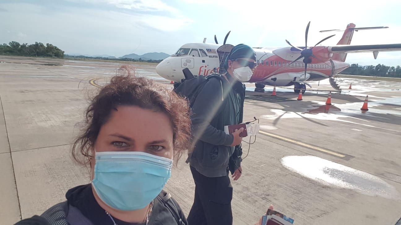 Flugzeug nach Kuala Lumpur