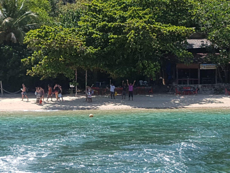 Rückfahrt von Pulau Kapas