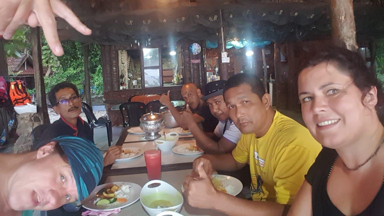 letzter gemeinsamer Abend auf Pulau Kapas